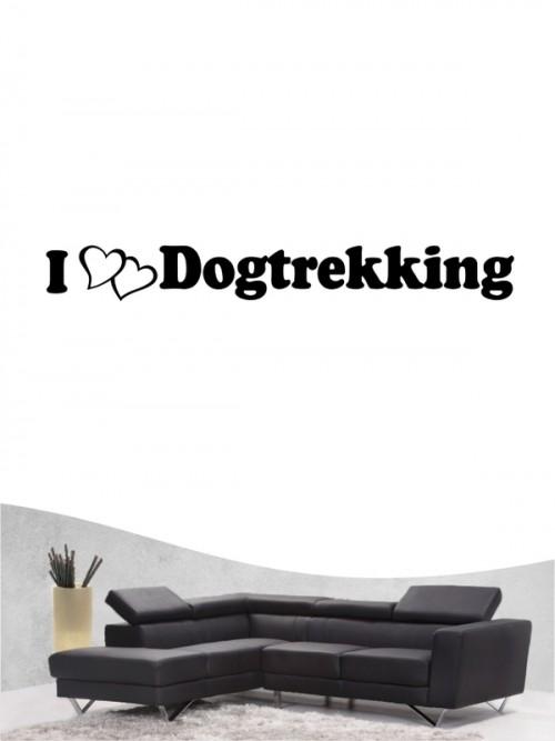 Hunde-Wandtattoo Dogtrekking 2 von Anfalas.de