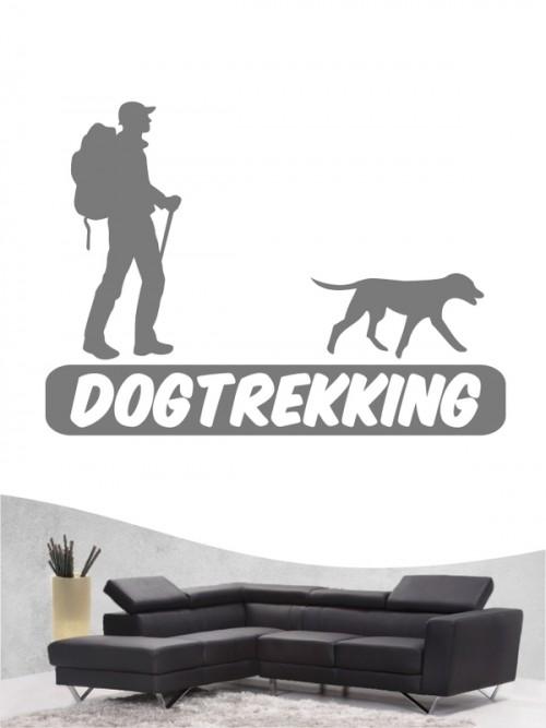Hunde-Wandtattoo Dogtrekking 3 von Anfalas.de