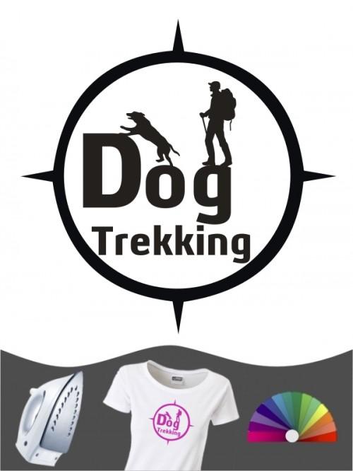 Hunde-Bügelbild Dogtrekking 6 von Anfalas.de