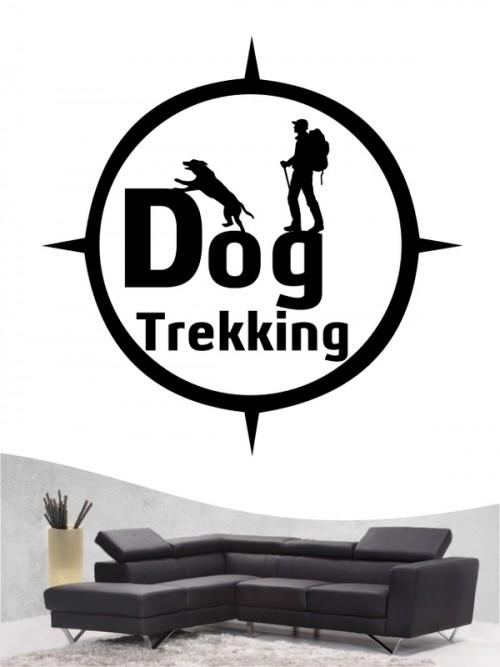 Hunde-Wandtattoo Dogtrekking 6 von Anfalas.de