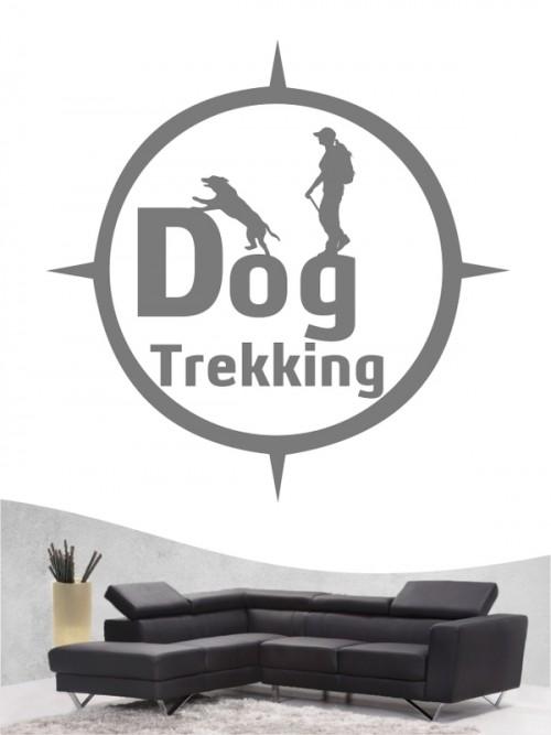 Hunde-Wandtattoo Dogtrekking 6a von Anfalas.de