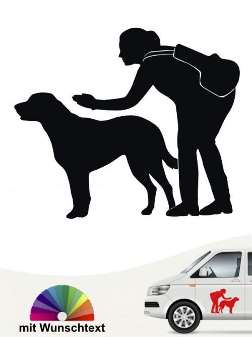 Hunde-Autoaufkleber Dummytraining 23 von Anfalas.de