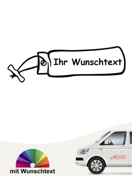 Hunde-Autoaufkleber Dummytraining 5 von Anfalas.de