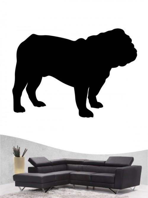 English Bulldog 1 - Wandtattoo