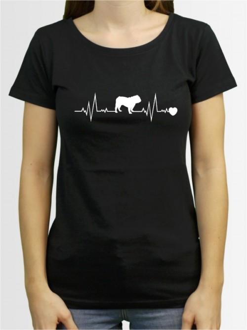 """""""English Bulldog 41"""" Damen T-Shirt"""