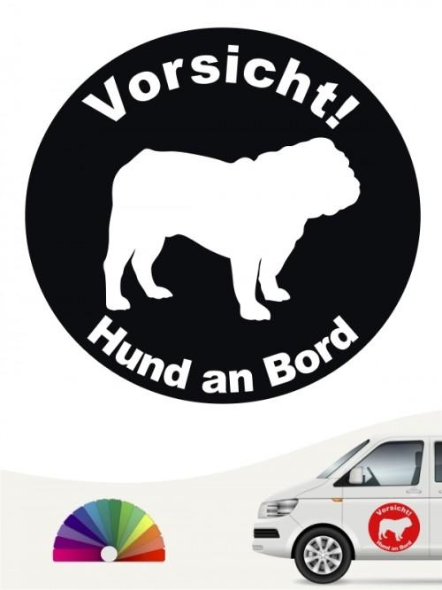English Bulldog Aufkleber von anfalas.de