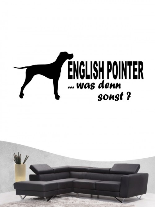 English Pointer 7 - Wandtattoo