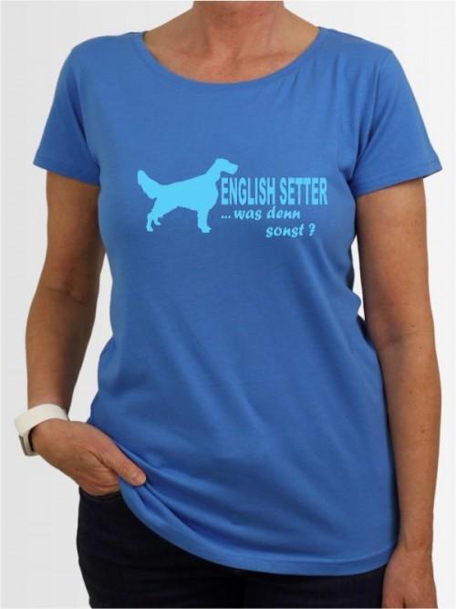 """English Setter 7"" Damen T-Shirt"