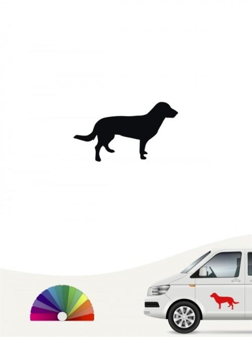 Entlebucher Sennenhund Autosticker anfalas.de