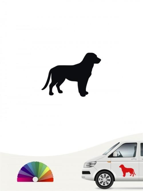 Entlebucher Sennenhund Heckscheibenaufkleber anfalas.de