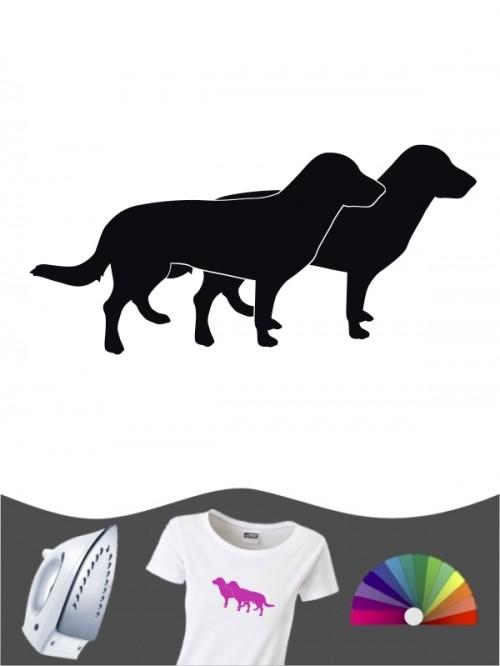 Entlebucher Sennenhund 2 - Bügelbild