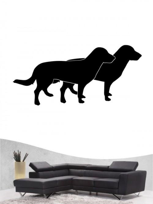 Entlebucher Sennenhund 2 - Wandtattoo
