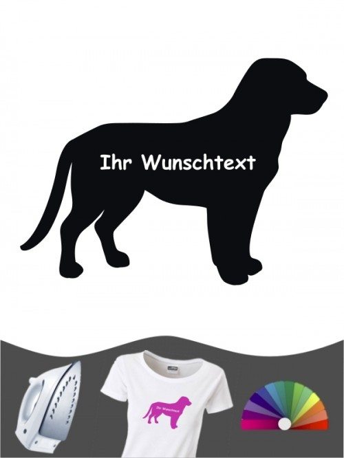 Entlebucher Sennenhund 3a - Bügelbild