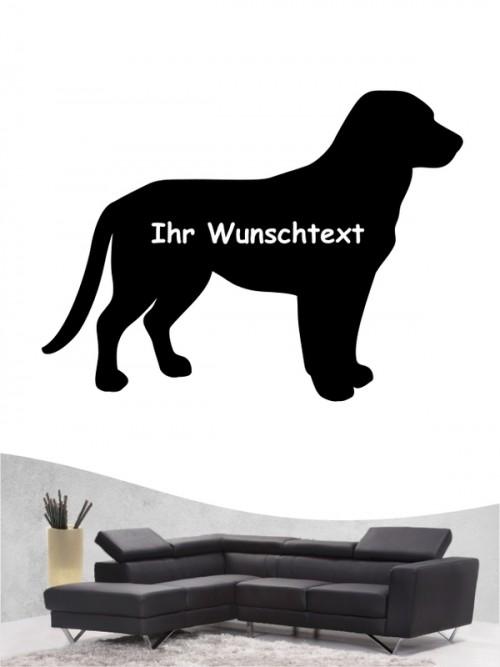 Entlebucher Sennenhund 3a - Wandtattoo