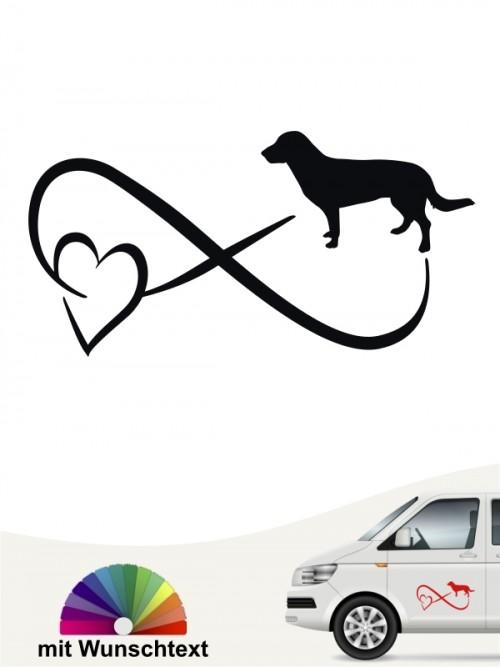 Entlebucher Sennenhund Autoufkleber von anfalas.de