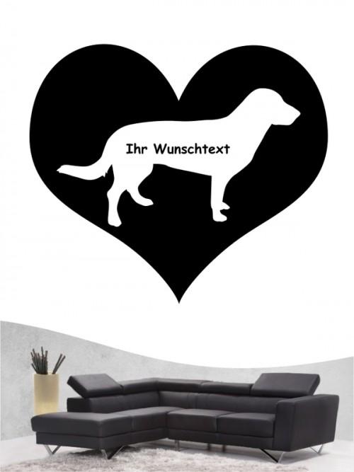 Entlebucher Sennenhund 4 - Wandtattoo