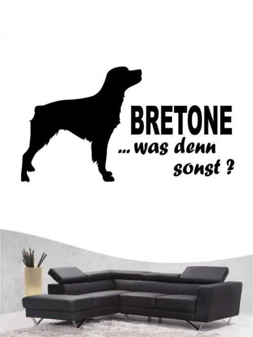 Epagneul Breton 7 - Wandtattoo