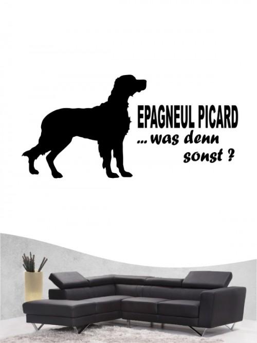 Epagneul Picard 7 - Wandtattoo