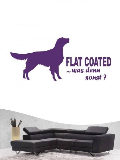 Flat Coated Retriever 7 - Wandtattoo