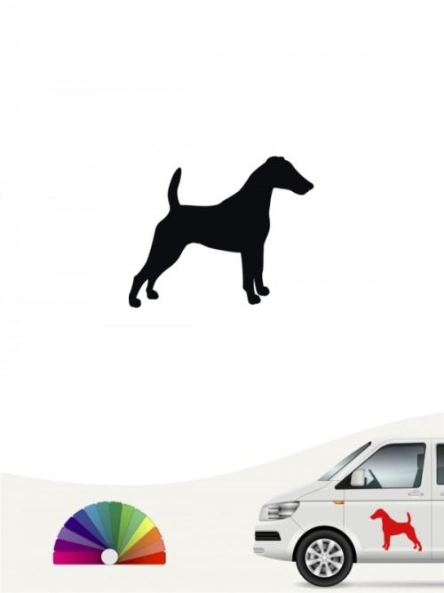 Hunde-Autoaufkleber Fox Terrier 1 Mini von Anfalas.de