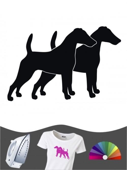 Fox Terrier 2 - Bügelbild