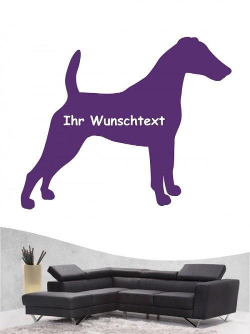 Fox Terrier 3 Wandtattoo