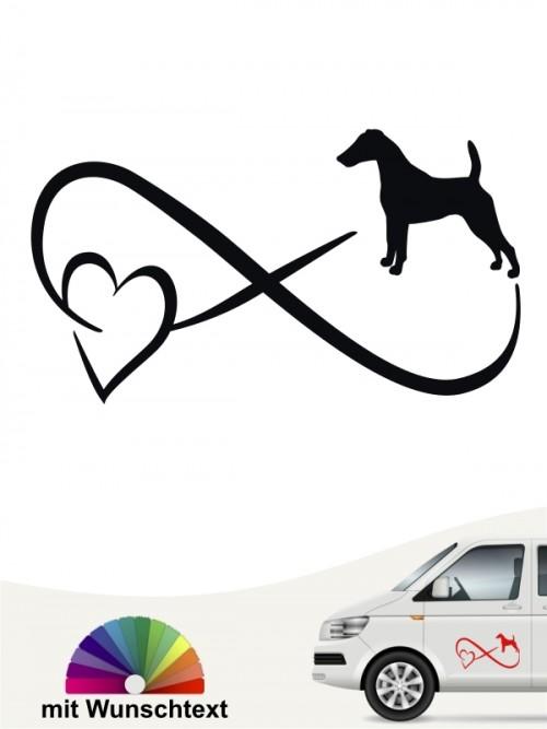 Fox Terrier Autoufkleber von anfalas.de