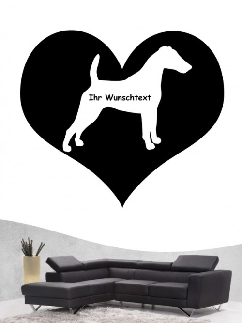 Fox Terrier 4 Wandtattoo