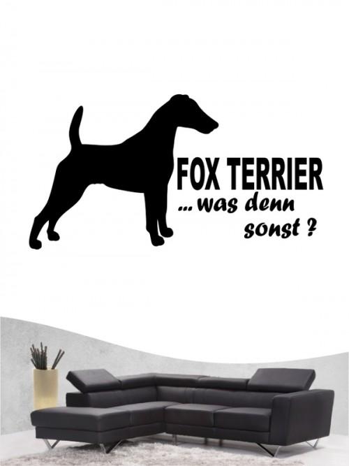 Fox Terrier 7 Wandtattoo