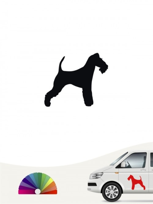 Hunde-Autoaufkleber Fox Terrier Drahthaar 1 Mini von Anfalas.de