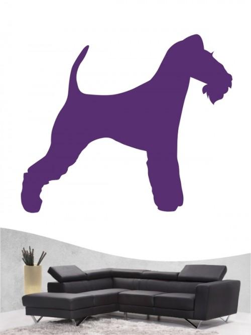 Fox Terrier Drahthaar 1 Wandtattoo