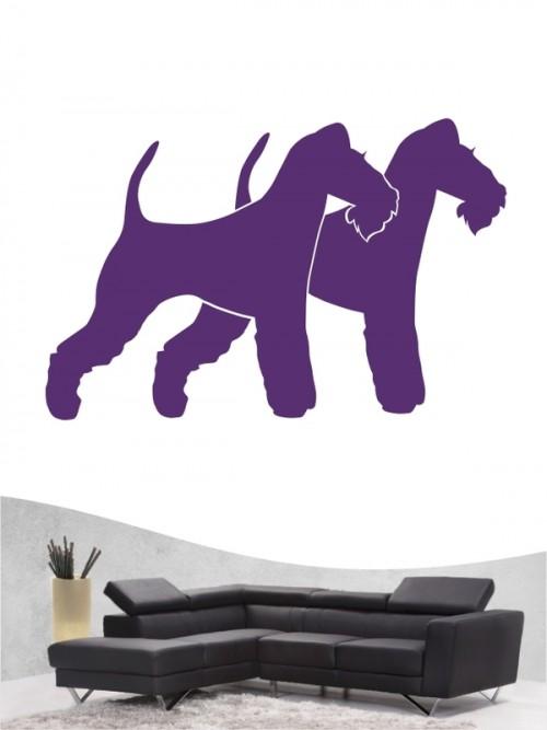 Fox Terrier Drahthaar 2 - Wandtattoo