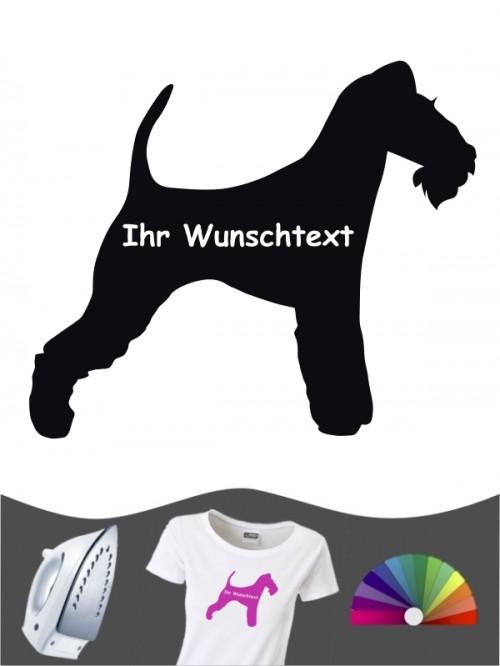 Fox Terrier Drahthaar 3 - Bügelbild