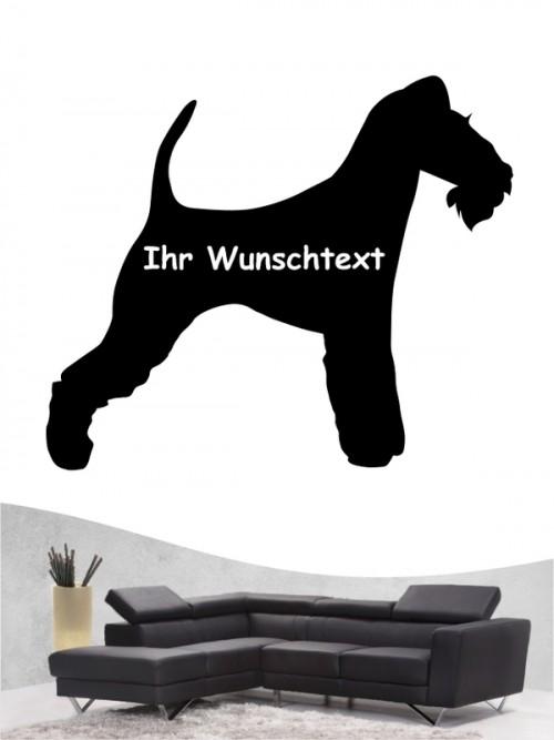 Fox Terrier Drahthaar 3 Wandtattoo