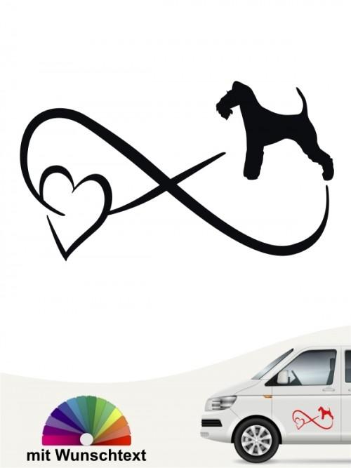 Fox Terrier Drahthaar Autoufkleber von anfalas.de