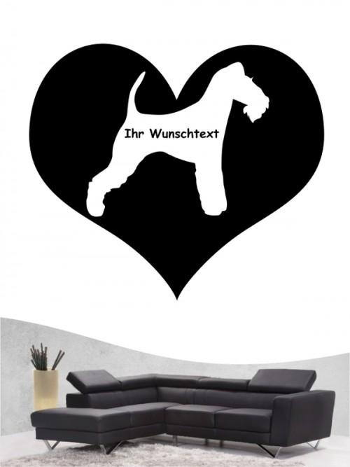 Fox Terrier Drahthaar 4 Wandtattoo