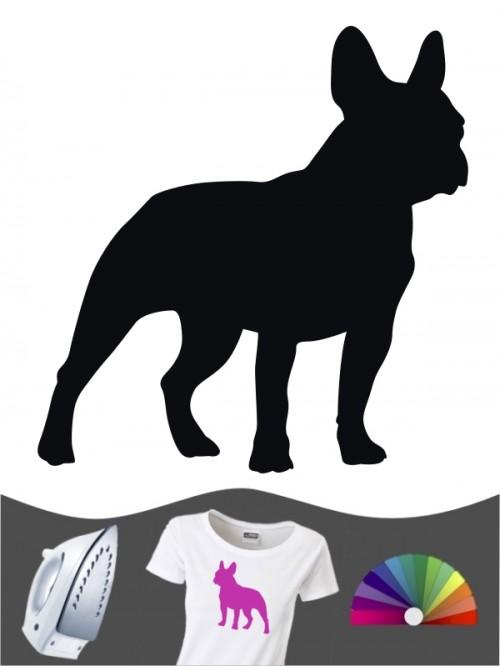 Französische Bulldogge 1 - Bügelbild