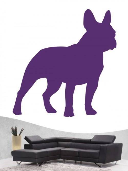 Französische Bulldogge 1 - Wandtattoo