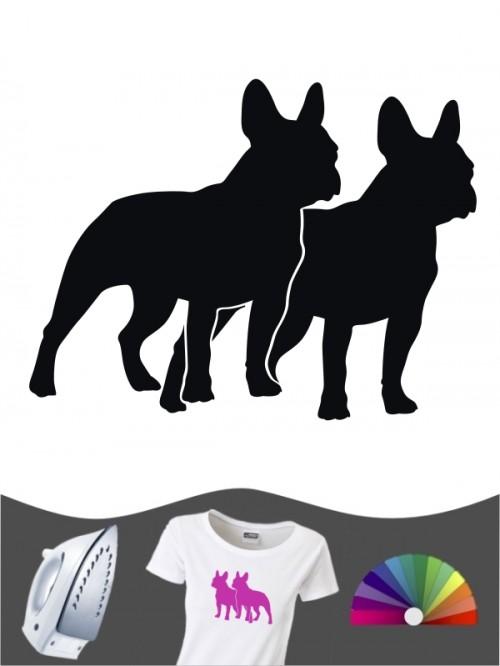 Französische Bulldogge 2 - Bügelbild
