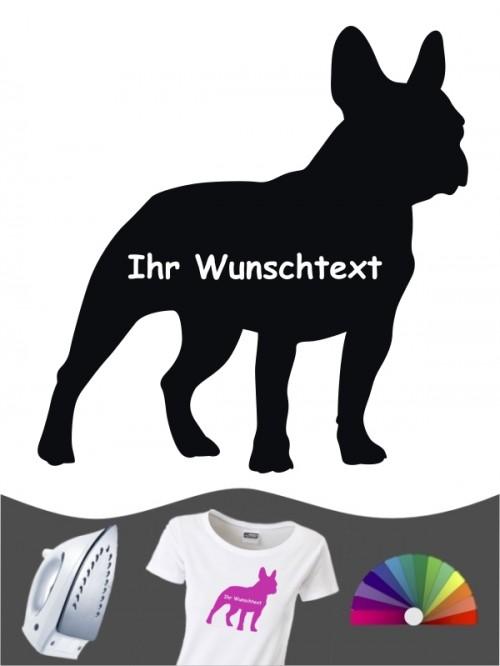 Französische Bulldogge 3 - Bügelbild