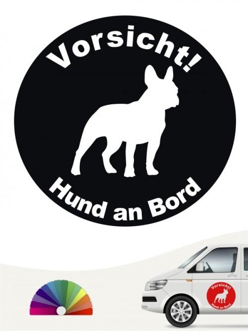 Französische Bulldogge Aufkleber von anfalas.de