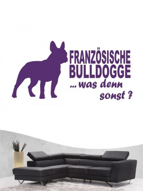 Französische Bulldogge 7 - Wandtattoo