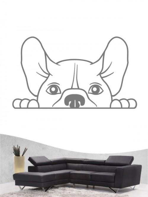 Französische Bulldogge Comic 1 - Wandtattoo