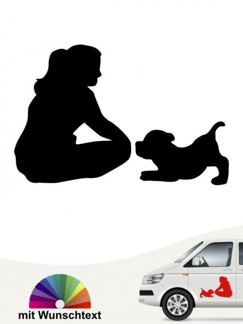 Hunde-Autoaufkleber Beste Freunde 42 von Anfalas.de