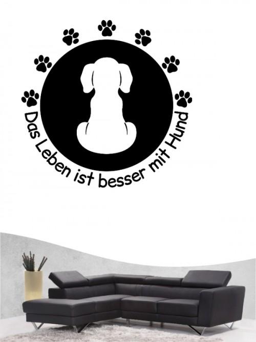Hunde-Wandtattoo Friends 47 von Anfalas.de