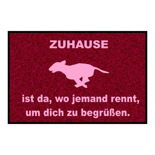 """Fußmatte """"Zuhause"""""""