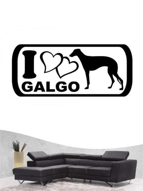 Galgo 6 - Wandtattoo