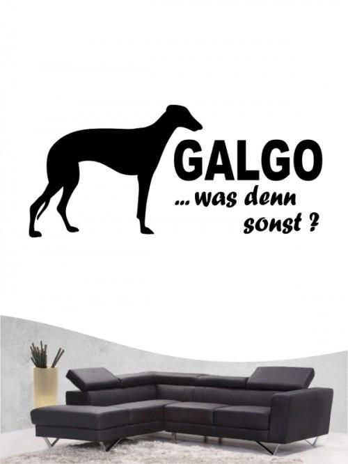 Galgo 7 - Wandtattoo