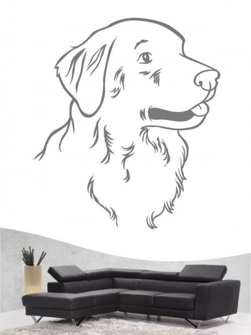 Golden Retriever 11 - Wandtattoo