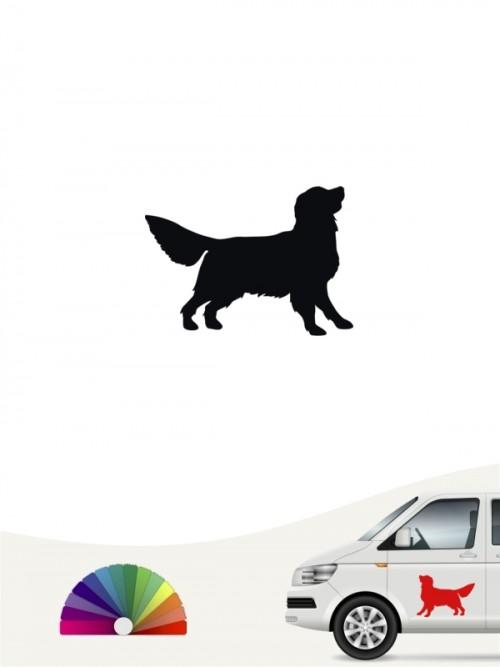 Hunde-Autoaufkleber Golden Retriever 1a Mini von Anfalas.de
